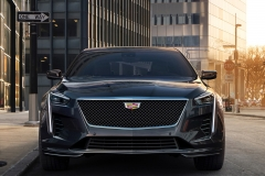 2019 Cadillac CT6 V-Sport exterior 002 front zoom