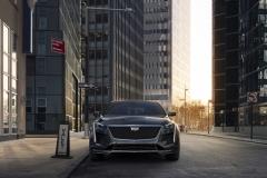 2019 Cadillac CT6 V-Sport exterior 002 front
