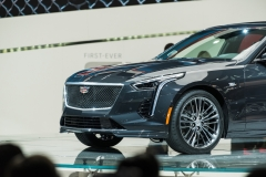 2019 Cadillac CT6 V-Sport exterior - 2018 New York Auto Show live 011 - front end