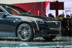 2019 Cadillac CT6 V-Sport exterior - 2018 New York Auto Show live 012 - front end