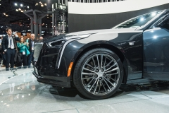 2019 Cadillac CT6 V-Sport exterior - 2018 New York Auto Show live 015 - front end
