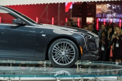 2019 Cadillac CT6 V-Sport exterior - 2018 New York Auto Show live 016 - front end