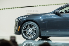 2019 Cadillac CT6 V-Sport exterior - 2018 New York Auto Show live 017 - front end