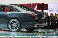 2019 Cadillac CT6 V-Sport exterior - 2018 New York Auto Show live 019 rear end