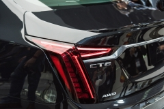 2019 Cadillac CT6 V-Sport exterior - 2018 New York Auto Show live 020 - taillamp with CT6 and AWD badges