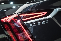 2019 Cadillac CT6 V-Sport exterior - 2018 New York Auto Show live 022 - taillamp with CT6 badge