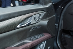 2019 Cadillac CT6 V-Sport interior - 2018 New York Auto Show live 012- front door inserts and controls