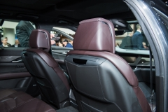 2019 Cadillac CT6 V-Sport interior - 2018 New York Auto Show live 016 - front seatbacks