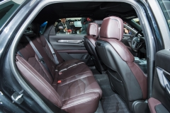2019 Cadillac CT6 V-Sport interior - 2018 New York Auto Show live 017 - rear seats