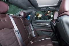 2019 Cadillac CT6 V-Sport interior - 2018 New York Auto Show live 018 - rear seats