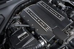 2019 Cadillac CT6-V Engine Bay 4.2L Twin Turbo V8 Blackwing Engine 003 Cadillac Script