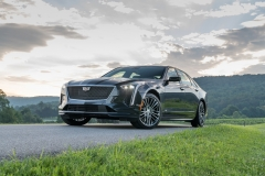 2019 Cadillac CT6-V Exterior 001 Front Three Quarters