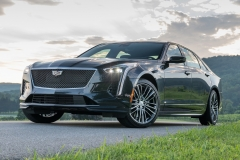 2019 Cadillac CT6-V Exterior 002 Front Three Quarters Zoom