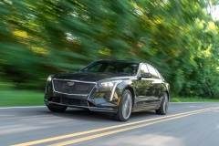 2019 Cadillac CT6-V Exterior 003 Front Three Quarters