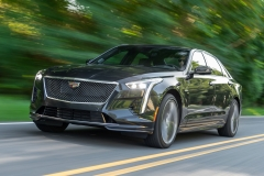 2019 Cadillac CT6-V Exterior 004 Front Three Quarters Zoom