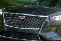 2019 Cadillac CT6-V Exterior 005 Front Grille and Cadillac Logo