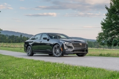 2019 Cadillac CT6-V Exterior 006 Front Three Quarters