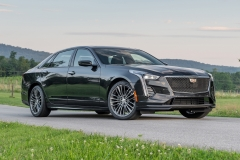 2019 Cadillac CT6-V Exterior 007 Front Three Quarters Zoom