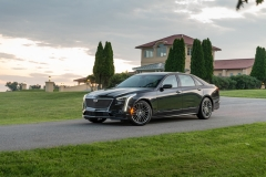 2019 Cadillac CT6-V Exterior 008 Front Three Quarters