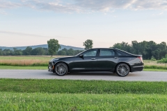 2019 Cadillac CT6-V Exterior 010 Side Profile