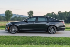 2019 Cadillac CT6-V Exterior 011 Side Profile Zoom