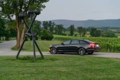 2019 Cadillac CT6-V Exterior 012 Rear Three Quarters