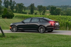 2019 Cadillac CT6-V Exterior 013 Rear Three Quarters Zoom