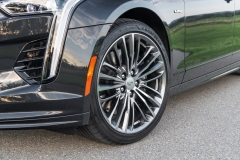 2019 Cadillac CT6-V Exterior 014 Front End And Front Wheel