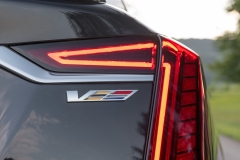 2019 Cadillac CT6-V Exterior 017 V Logo on Rear Decklid