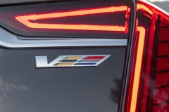 2019 Cadillac CT6-V Exterior 018 V Logo on Rear Decklid
