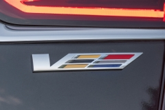 2019 Cadillac CT6-V Exterior 019 V Logo on Rear Decklid