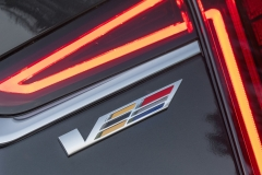 2019 Cadillac CT6-V Exterior 020 V Logo on Rear Decklid