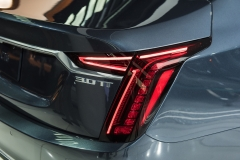 2019 Cadillac CT6 - 3.0L Twin Turbo V6 - exterior - 2018 New York Auto Show live 013 - taillight and 3.0TT badge