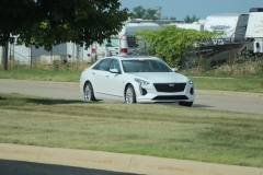 2019 Cadillac CT6 Premium Luxury exterior in Crystal White Tricoat G1W - July 2018 001