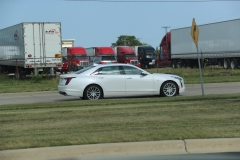 2019 Cadillac CT6 Premium Luxury exterior in Crystal White Tricoat G1W - July 2018 008