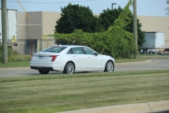 2019 Cadillac CT6 Premium Luxury exterior in Crystal White Tricoat G1W - July 2018 009