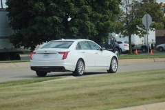 2019 Cadillac CT6 Premium Luxury exterior in Crystal White Tricoat G1W - July 2018 011