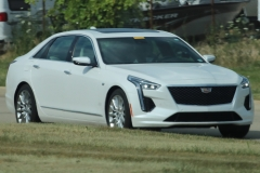 2019 Cadillac CT6 Premium Luxury exterior in Crystal White Tricoat G1W - July 2018 - zoom 001