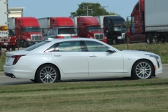 2019 Cadillac CT6 Premium Luxury exterior in Crystal White Tricoat G1W - July 2018 - zoom 003