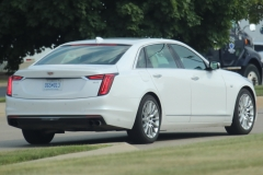 2019 Cadillac CT6 Premium Luxury exterior in Crystal White Tricoat G1W - July 2018 - zoom 004