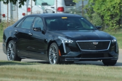 2019 Cadillac CT6 Sport 3.0L TT V6 - Black Raven GBA exterior zoomed - July 2018 001
