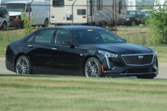 2019 Cadillac CT6 Sport 3.0L TT V6 - Black Raven GBA exterior zoomed - July 2018 002