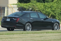 2019 Cadillac CT6 Sport 3.0L TT V6 - Black Raven GBA exterior zoomed - July 2018 004