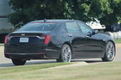 2019 Cadillac CT6 Sport 3.0L TT V6 - Black Raven GBA exterior zoomed - July 2018 005