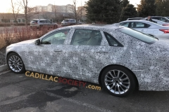 2019 Cadillac CT6 Spy Shots - March 2018 - Exterior 002