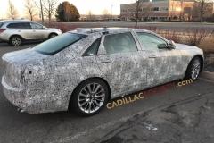 2019 Cadillac CT6 Spy Shots - March 2018 - Exterior 003