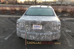 2019 Cadillac CT6 Spy Shots - March 2018 - Exterior 004