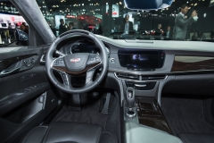 2019 Cadillac CT6 - interior - 2018 New York Auto Show live 005 - cockpit