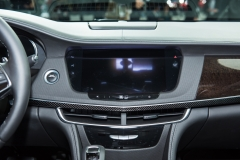 2019 Cadillac CT6 - interior - 2018 New York Auto Show live 007 - CUE infotainment screen