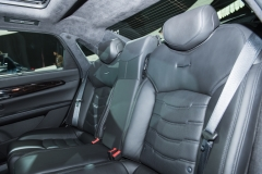 2019 Cadillac CT6 - interior - 2018 New York Auto Show live 017 - rear seats